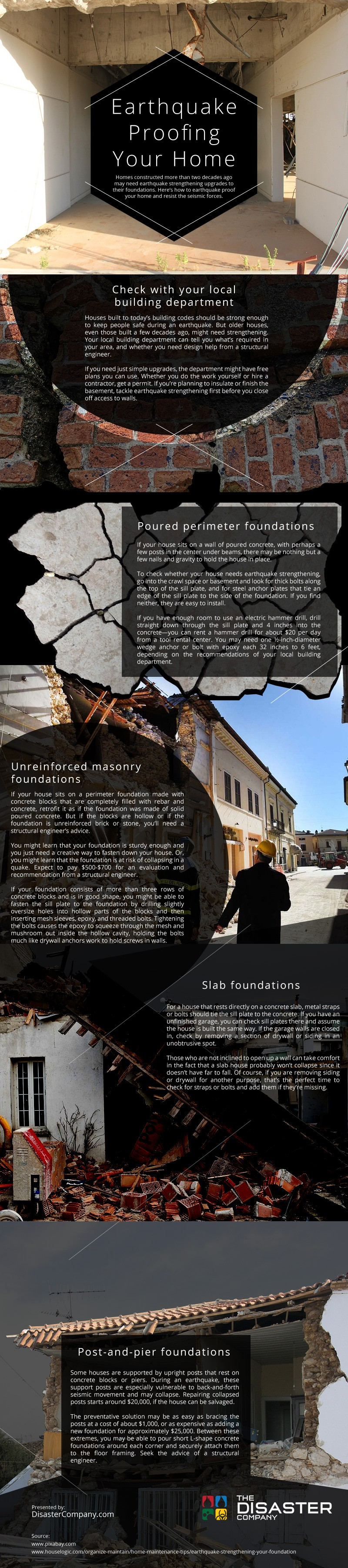 Earthquake Proofing your Home [infographic]